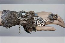 Steampunk and Victorian clothing