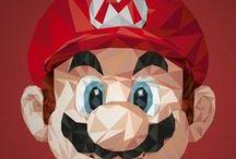 Mario Broos / clásico de los videos juegos! Sígueme por favor.(Follow me please)