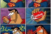 cosas de super héroes / humor