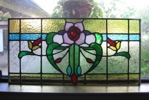 Things I Have Made / All my stained glass projects are fully leaded - no copper foiling.