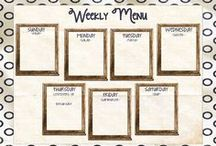 Meal planning/food storage / by Kandace McCreary