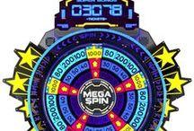 Arcade Games - Wheel Redemption Games / Spinner Spin Arcade Games