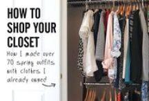 Mode - Capsule Collection / Wie man aus einer kleinen Garderobe viele Outfits erstellen kann.