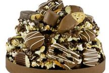 Mountains of Chocolate / You'll be scaling the highest peaks for one last morsel!