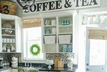 MODERN FARMHOUSE STYLE / Chip & Joanna Gaines, farmhouse style, modern farmhouse decor, rustic industrial features, white decor, decorating with wood, decorating with plants, modern farmhouse kitchens, modern farmhouse bathrooms
