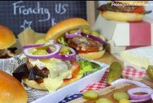 Burgers / Les burgers revisités à ma façon