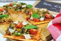 Pizzas / Les pizzas revisitées à ma façon