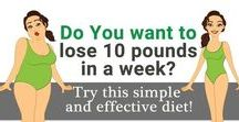 Weight Loss Ideas / Food- everyone loves it. It's easy to put on weight but so hard to lose it. Check out these pins to see how you can become thin as a pin and slim, fit and healthy. But remember, don't over do it! :))