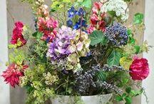 Zijden bloemen / Kunst bloemen van zijde, Yfke Blom