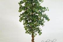Kunstplanten en objecten / Kunst planten, objecten en zijden bloemen.