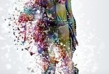 Dispersion Photoshop Action / Photo Effects Actions / 照片合成