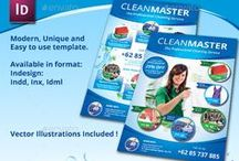 Cleaning Services Flyer / Print Templates / PSD