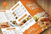 Food Menu / Print Templates / PSD