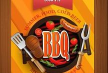 BBQ Flyer Templates / PSD / Brochures / Banners / Ads / Banners & Ads / Web Elements / Restaurant Menu
