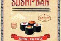 Sushi Flyer / Sushi Restaurant menu / Print Templates