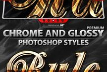 Text Styles & Text Effects PS Photoshop
