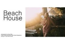 Beach House / USA made editorial, styled using all California made designers. Shot by Alexa Miller, modeled by Brooke Moorberg at Stars Model Management. Featuring Ozma, The Palatines, Botanica Workshop, Crescioni, Re/done, Janessa Leone, Town Clothes and Reformation.