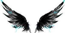 Tatuaje de Alas / Una idea de mi tatuaje de alas para mi espalda