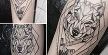 Tatuaje Lobo / Tercer tatuaje