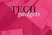 Cool Tech Gadgets / I LOVE tech gadgets and tips! Super fun tech gifts, tech gift ideas, geek gadgets, tech tips, tech tricks