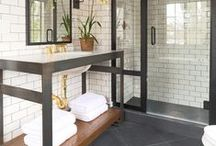 bathroom ideas / by Sylvia Goodyear