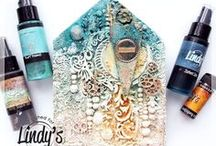 Lindy's Blog / Blog post projects from the Lindy's Stamp Gang Design Team and our special featured artists. #MixedMedia #ArtJournals #CardMaking #DIY