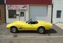 Corvettes and other vehicles / cars owned and want