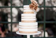 Cakes / Wedding cake ideas and looks that will be the perfect send-off for you and your guests. Follow all our boards for constant wedding inspiration and ideas! / by The Pink Bride
