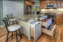 Kitchen Ideas / Do we all day dream of the ultimate kitchen? Let's compile ideas and take them to a certified kitchen designer to get the kitchen remodel ball rolling!
