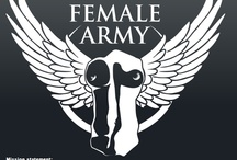 Global Female Army / Mission statement: Creating a peacekeeping Army that contributes to a positive world, with an understanding of all cultures. www.globalfemalearmy.com