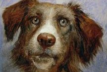 The Art of Animals / Animal portraits, as seen through the loving eyes of artists and photographers.