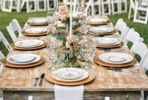 Shabby Chic Weddings / Distressing, sunflowers, and mason jars, oh my!