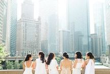 Urban Weddings / What's better than a gorgeous skyline as the backdrop for your wedding? Bring on the glam!