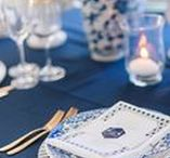 Blue Weddings / Whether you're thinking navy or cobalt, we will provide the inspiration.