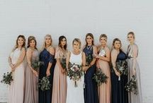 Contemporary Weddings / Bring on the mod themes, bold colors, and high fashion!
