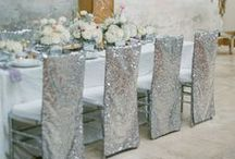 Silver Weddings / Metallic, industrial, and classic.