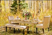 Fall Weddings / Whether you're crazy about the pumpkin spice lattes, the crisp air, or the colorful leaves, we can inspire you with a little bit of fall in these weddings.