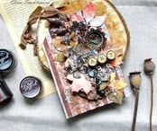 Tags & ATC's with Lindy's / Tags & Cards created using Lindy's products, mixed media, watercolor, single layer - you name it!