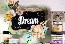 Altered Art with Lindy's / Interested in other ways to use your Lindy's sprays, paints or powders?  Then check out these stunning altered art projects!