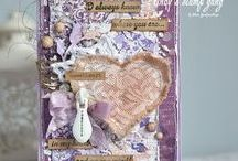 Be My Valentine / Gorgeous Valentine's Day and Romantic projects using Lindy's products