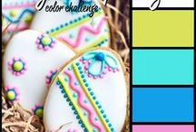 Happy Easter and Spring / Fun Easter and Spring themed projects using products from Lindy's or that could be colored using Lindy's. #easteregg #easter