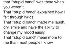 Bands <3 / Just band stuff