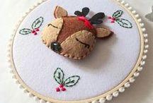 Décoration de Noël / Nos créateurs rivalisent d'imagination dans la confection de décorations de Noël 100% fait-main et 100% made in France !