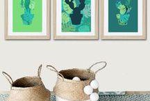 Affiches et posters de décoration / Pour décorer une chambre, un salon ou une cuisine, découvrez les affiches originales imaginées par des créateurs bien inspirés !