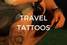 Travel Tattoos / Travel inspired tattoo ideas