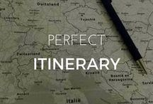 Perfect Itinerary / Itineraries and things to do. Travel the world. Research places you want to go. Recommendations for travel itineraries.