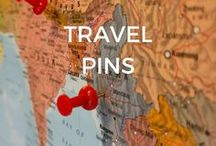 Travel Pins / Travel pins! All about travel - Tips and Tricks - Destinations and activities