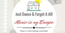 Let's Dance and Forget It All! / Music can be the BEST escape when we are overwhelmed, sad, and even when we are already in a great mood! Here you will find some of my FAVORITE pick me ups!
