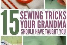 Sewing - Hacks & How to's / Tips that wil make sewing easier