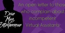 Virtual Assistant Tips & Tricks / Learn how to use what you know to grow a successful virtual assistant business.